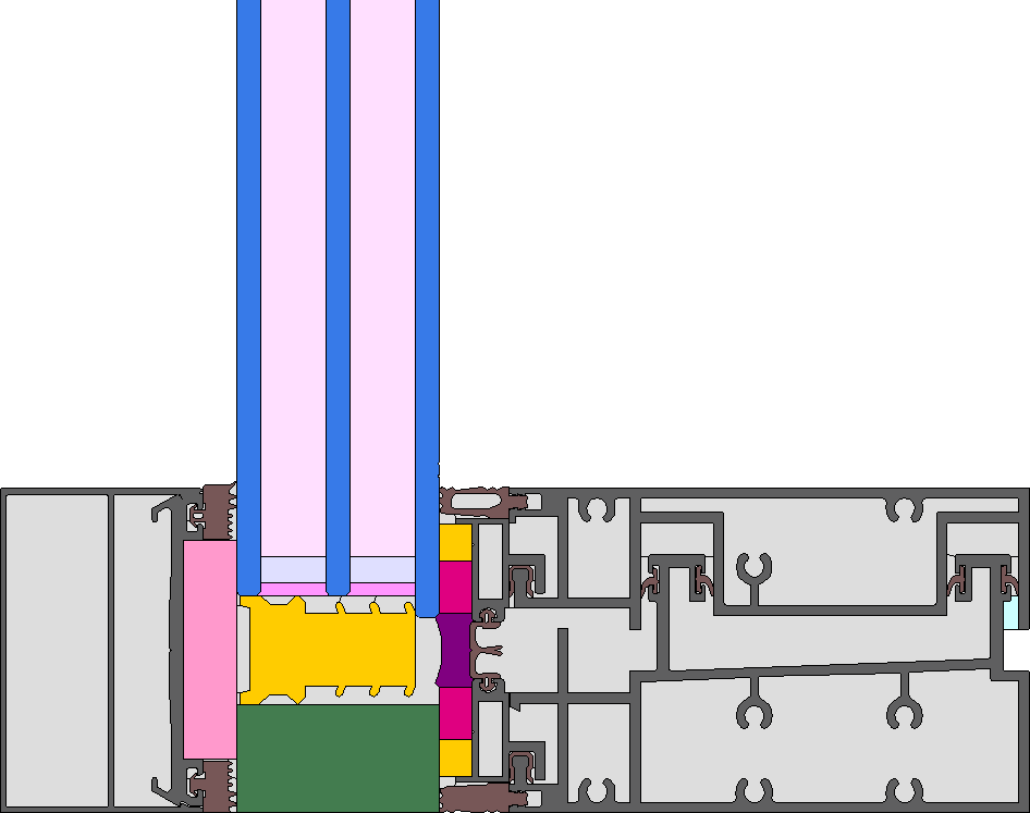 Image of 1224cw03: Curtain Wall System